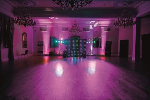 OVP disco pink Doxford Hall